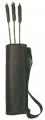 WYANDOTTE LEATHER INC 18 Arrow Leather Back Quiver Kit