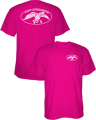 PIVOTAL PARTNERS LLP Duck Commander Logo S/S Tshirt Pink Large