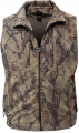 NATURAL GEAR Full Zip Fleece Vest Natural Camo Large