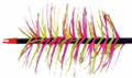 TRUEFLIGHT MFG CO INC Spiral Wrap Yellow Full Length RW Feathers