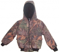 BONNIE & CHILDRENS SPORTSWEAR Boys Bommer Jacket Mossy Oak Breakup 4 - 5
