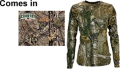 WALLS INDUSTRIES INC Womens Long Sleeve Tshirt Mossy Oak Country Xsmall